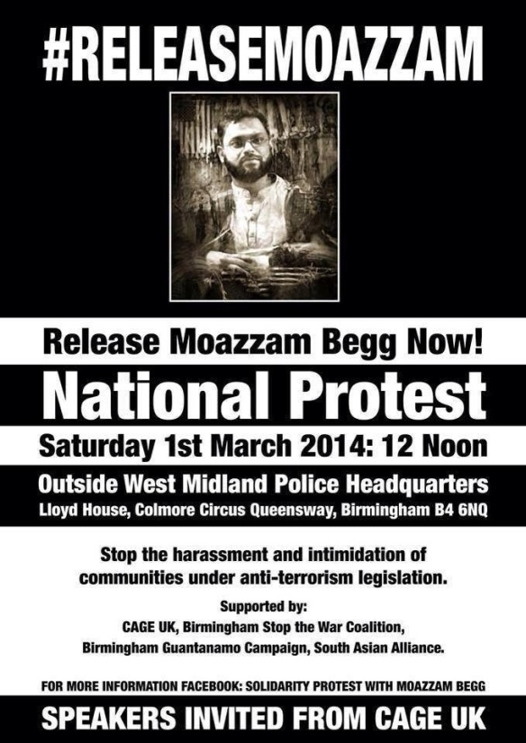 Release Moazzem Begg Now